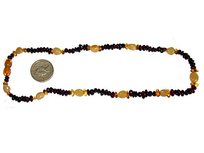 Amber Necklace Extra Long