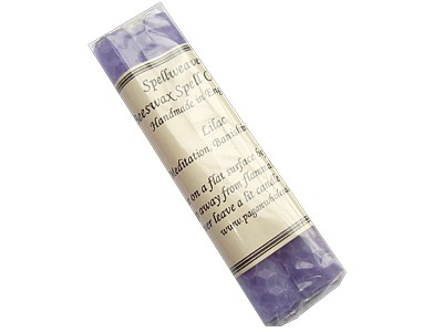 Beeswax Spell Candles Pack of 2 - Lilac