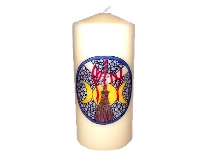 15cm Handfasting Decorative Candle