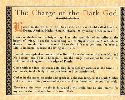 Charge of the Dark God Poster