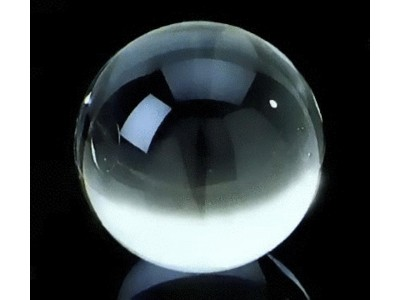 50mm Crystal Ball & Plastic Stand