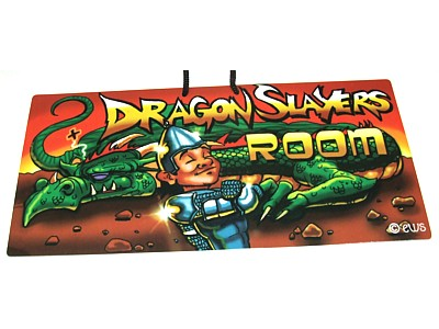 Dragon Slayers Room Witchy Sign