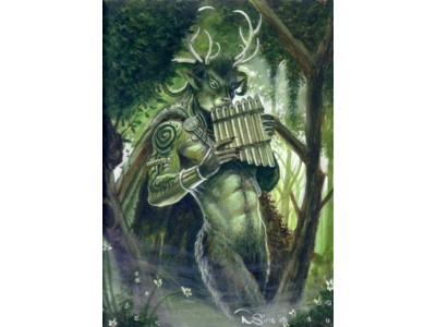 Forest Walker A6 Card