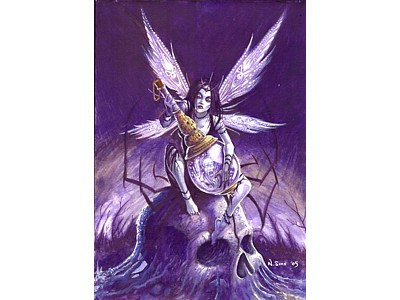 Keeper of Souls Fairy A6 Card