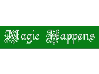 Magic Happens Bumper Sticker