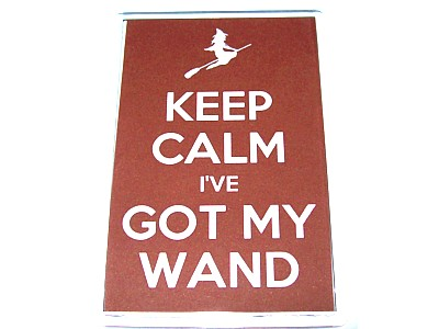 Keep Calm I've Got My Wand Magnet