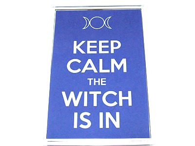 Keep Calm The Witch Is In Magnet