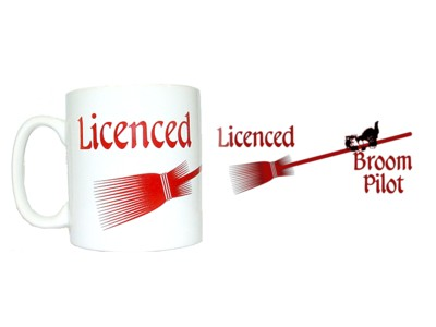 Licensed Broom Pilot Mug