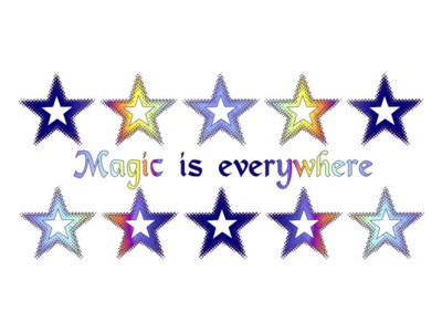 Magic is Everywhere Pentacle Mug