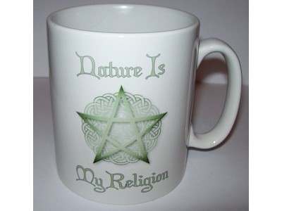 Nature is my Religion WR4 Mug