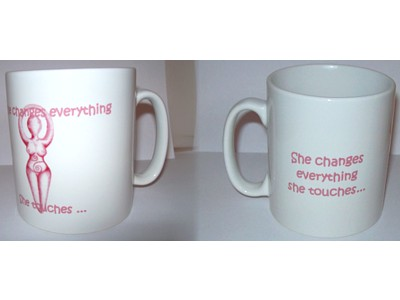 She Changes Everything Goddess Mug
