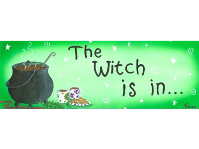 The Witch Is In Mug