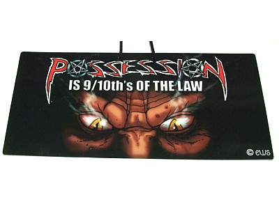 Possession is 9/10ths of the Law Witchy Sign