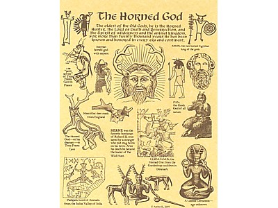 Horned God Poster - Click Image to Close