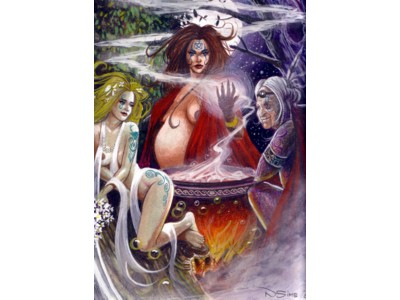 Maiden, Mother, Crone Print