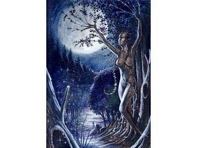 Tree Spirit A6 Card