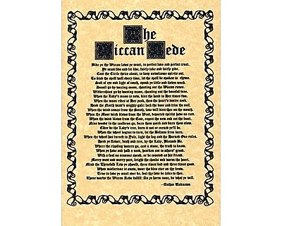 Wiccan Rede Full Version Poster