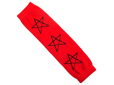 Pentagram Leg Warmers (Pair)