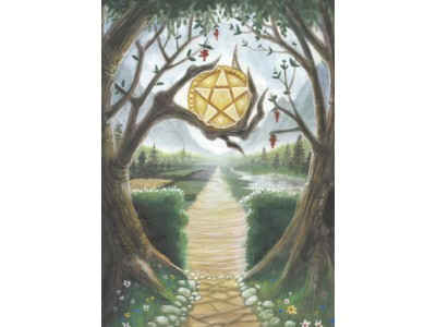 Wiccan Path A6 Card