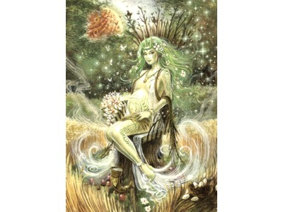 Mother Nature A6 Card