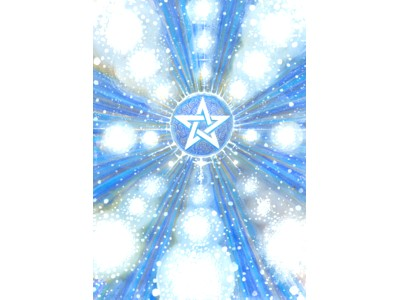 Star Bright Pentagram A6 Card