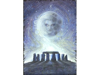 Spirit of Stonehenge A6 Card