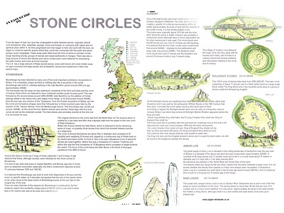 Stone Circle Easy Guide Poster
