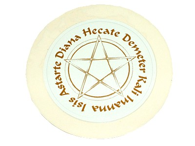 Goddess Names Tax Disc Holder