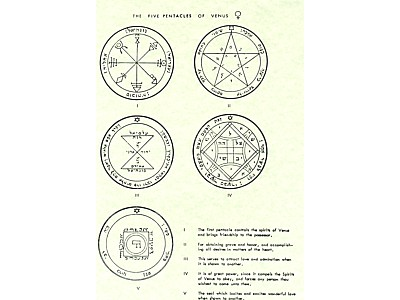 5 Pentacle of Venus Poster