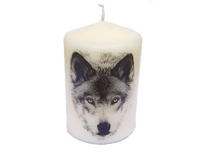 10cm Wolf Decorative Candle